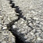 A crack in the asphalt. (c) AndrewMark